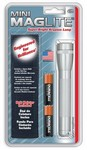 Mag Instrument 2A10H Mini Maglite Silvr W/Hlstr Pack
