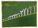 Allied International 88522 14 Pc Metric Wr Set In Pouch