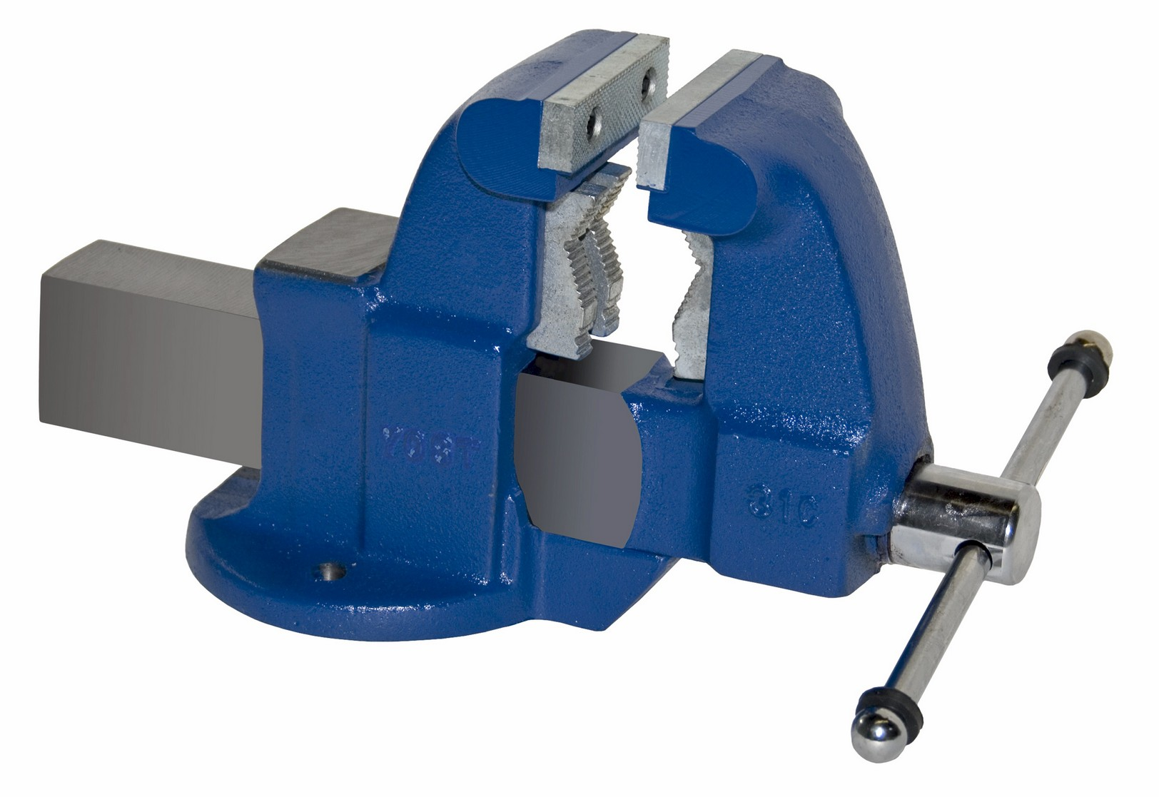 Yost Vises 131c 3 1 2 Heavy Duty Combination Pipe Bench Vise Stationary Base