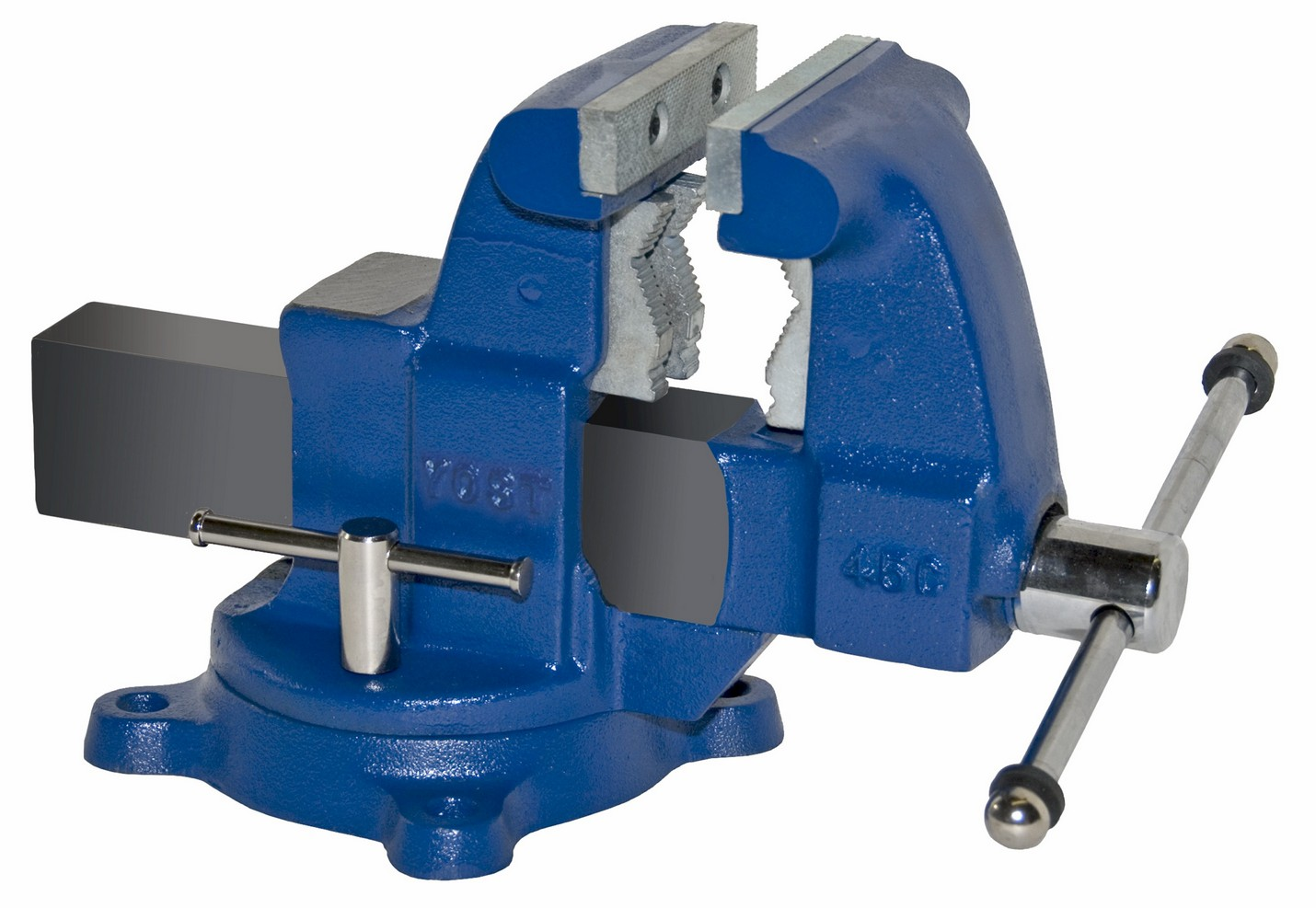 Yost Vises 45c 4 1 2 Tradesman Combination Pipe Bench Vise Swivel Base