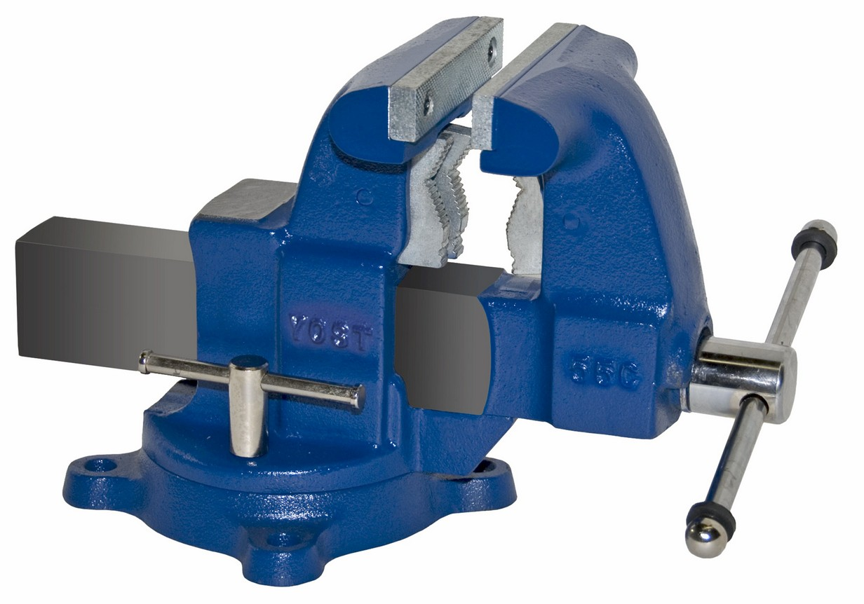 Yost Vises 55c 5 1 2 Tradesman Combination Pipe Bench Vise Swivel Base
