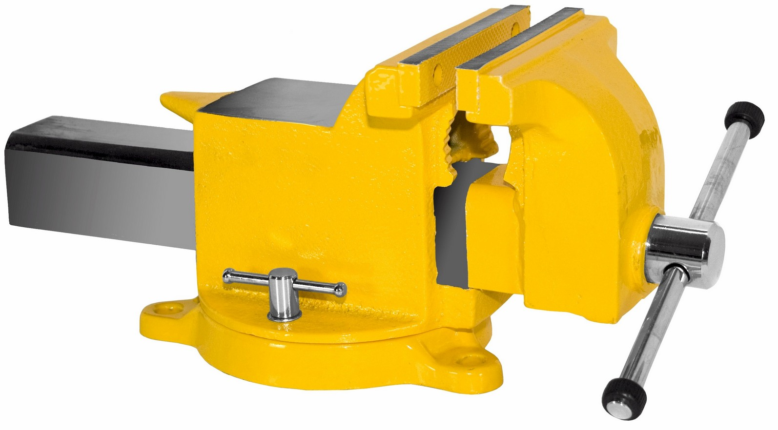 yost vises 904 hv high visibility all steel utility combination pipe bench vise