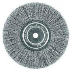 Dewalt 4906 8 Inch Crimped Bench Wire Wheel 5 8 Arbor