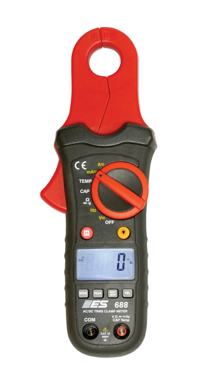 Electronic Specialties 688 Premium Low Amp Current Clamp Meter