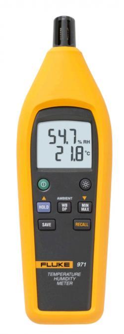 Temperature Humidity Meter : Fluke temp humidity meter