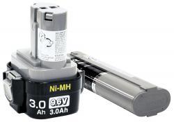 Makita 192638-6 Nickel Cadmium Battery 9120 - 9.6V (1.3 Ah)