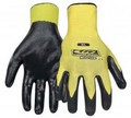 Ringers Gloves 013-10 Nitrile 1/2 Dip Yellow Large