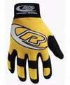 Ringers Gloves 134-10 Authentic Mechanic Glove Yellow- Large