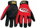 Ringers Gloves 135-10 Authentic Mechanic Glove Red-Large