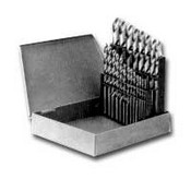 Vermont American 10144 HSS Drill Bit Set 1/16 - 1/2 In by 64ths 29-Pc