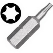 Vermont American 15407 Type Torx Size TX27 with 1-Inch Length Extra Hard Screwdriver Bit, 2 Pieces Per Card