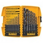 Dewalt/Black & Decker 1167 Black Oxide 17Pc Drill Bit Set