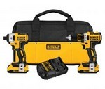 Dewalt/Black & Decker DCK281D2 20V Max Bl Drill/Imp Kit