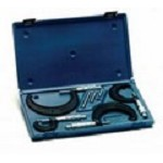Central Tools 6151 Micrometer Set 0-4In Range .001In Graduations