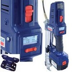 Lincoln Industrial 1864 18 Volt PowerLuber w Dual Lithium Ion Battery, Charger & Case