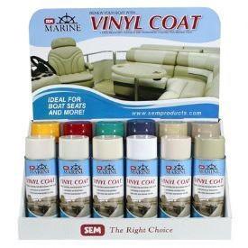 Sem Paints M25223 Marine Vinyl Coat Stingray Yellow 16 Oz