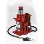 Zinko Jacks ZABJ-12C2 12 Ton Air/Manual Bottle Jack