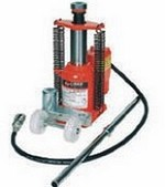 Zinko Jacks ZAPJ-25 25 Ton Air Hydraulic Bottle Jack
