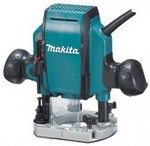 Makita RP0900K Plungerouter 1-1/4Hp 27,000Rpm,Case