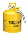 Justrite Llc 7250230 5 Gallon Yellow Safety Can