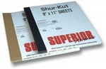 Superior Abrasives 12166 Waterproof Paper Sheet 9X11 600A Grit
