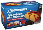 A E S Industries 21800 Da Sandpaper Disc Dispenser