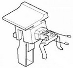 Makita 531078-7 Trigger Switch For Mk6019Dwle - Part