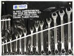 Allied 33-16M Comb O/B End Wrench 16pc Set Met with Pounc