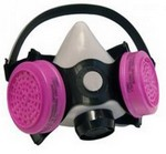 SAS Safety 3650-00 P100 Respirator Low Maint Mediumium