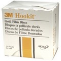 3M 0966 Hookit Gold Film Disc 255L, 100 Grit