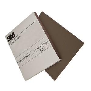 3M 2404 Utility Cloth Sheet, 240 Grit