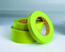 3M 26332 Scotch Performance Green Masking Tape 233+, 12 mm width (.47 inches)
