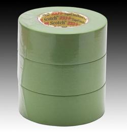 3M 26340 Scotch Performance Green Masking Tape 233+, 48 mm width (1.9 inches)