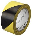 3M 43181 Tape Hazard Warning 766 Blk/Yellow Cs/24