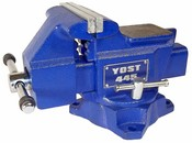 Yost 4-1/2 Inch Utility Vise, Model 445 Apprentice Series Bench Vise