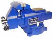 Yost 6-1/2 Inch Utility Vise, Model 465 Apprentice Series Bench Vise