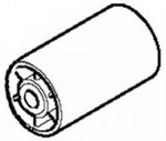 Makita 152585-3 Tension Roller Cpl For 9910 - Part