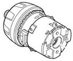 Makita Parts 125539-3 Gear Assembly, Df330dw