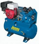 Jenny Products J13HGE-30T 13hp Gas Dr Compressor-fob