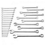 Wright Tool 726 26 Pc. 12 Pt. Combination Wrench Set, 1/4
