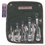 Wright Tool 9429 Ratcheting Box Wrench Set, 5-Piece