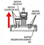 A & A Hydraulic 822703 Coupler Kit