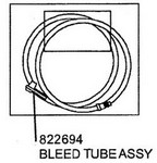 A & A Hydraulic 822694 Bleed Tube Assy F/Bb2000 - Part