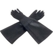 ALC 40248 Sandblasting Gloves Rubber, Cloth Lined 24 In L x 6 Inch Dia