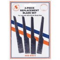 AES Industries 670-4 4 4Pc Replacement Blade Set