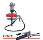 ATD Tools 5289A Air Operated High Pressure Grease Pump with Professional Lever Action Grease Gun