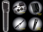 Bayco Products NSR-9612B NightStick LED Metal Rechargeable Flashlights