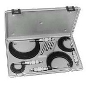 Central Tools 6171 Micrometer Set 0-6 Inch Range .001In Graduations