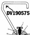 Devilbiss 190575 Secondary Handle - KB74
