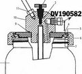 Devilbiss 190582 TIA-4355 Safety Valve